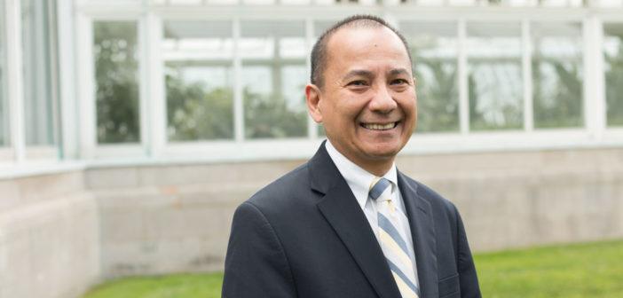 """Faustino """"Tito"""" Cruz, S.M., dean of the Graduate School of Religion and Religious Education (GRE)"""