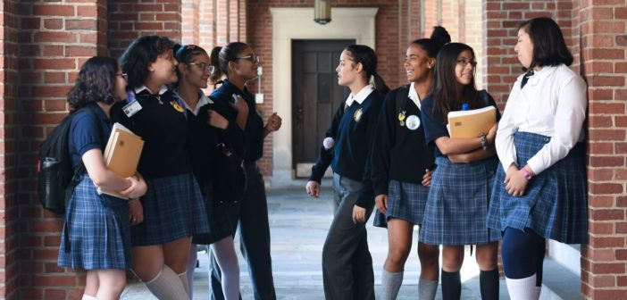 GRE Forms Partnership with the Bronx's Aquinas High School